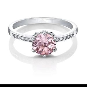 NWT Fragrant Jewels Water Lilies Size 8 Pink Ring